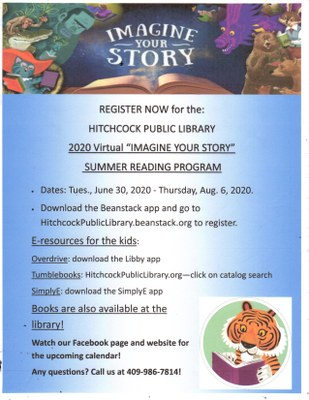 Virtual Summer Prog-Sign Up now